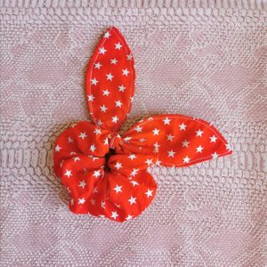 scrunchie-rouge